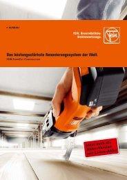 Das leistungsstärkste Renovierungssystem der ... - C. & E. FEIN GmbH