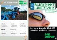 Ihre Ansprechpartner top agrar Ausgabe 11/2009