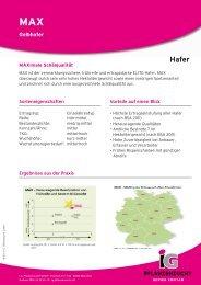 Gelbhafer - BAG Franken eG