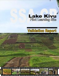 lake kivu pls validation report - FARA Africa