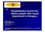 full presentation Rehabilitation service in Hungary