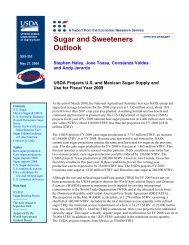 Sugar and Sweeteners Outlook