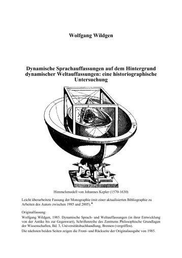 Wolfgang Wildgen Dynamische ... - Universität Bremen