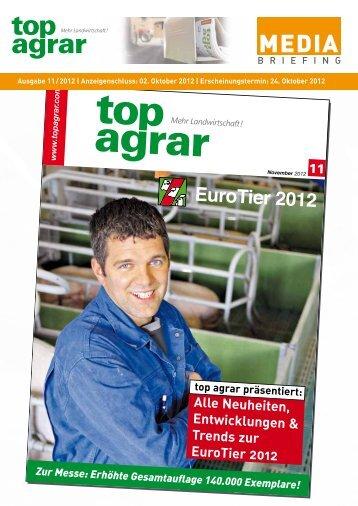 Alle Neuheiten, Entwicklungen & Trends zur EuroTier 2012