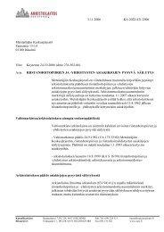 Päätös - Arkistolaitos