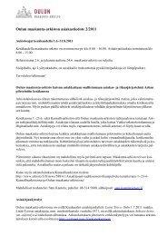 Tiedote (pdf) - Arkistolaitos