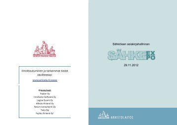 SÄHKE-expo esite 4.pdf - Arkistolaitos