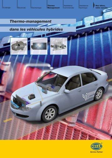 Thermo-management dans les véhicules hybrides - Auto-Tuto