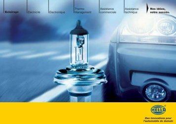 Electronique Thermo Management Electricité Eclairage Assistance ...