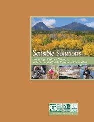 Sensible Solutions - Balancing Hardrock Mining ... - Sonoran Institute
