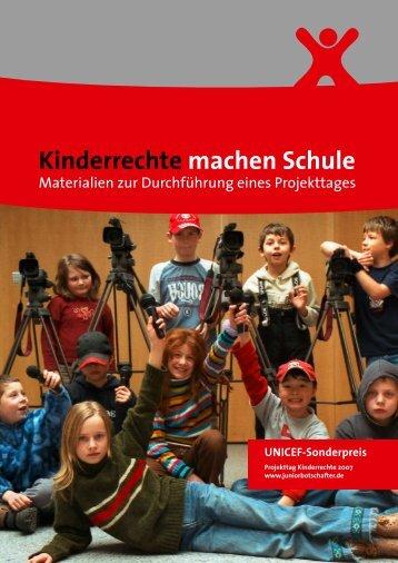 """Arbeitsmappe """"Kinderrechte machen Schule"""" - Studienseminar GHRF"""