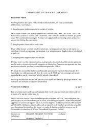 INFORMATIE EN TIPS M.B.T. STRALING - StopUMTS.nl