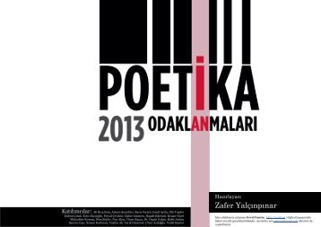 Poetika 2013 - Zafer Yalçınpınar