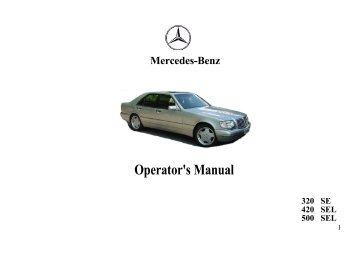 Operator's Manual - 400 Bad Request