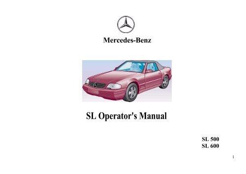 1998 R129-owners-manual pdf