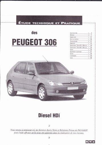 PEUGEOT 306 - Auto-Tuto