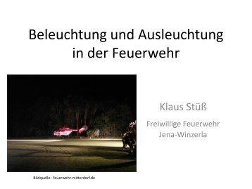 Beleuchtung und Ausleuchtung in der Feuerwehr - Freiwillige ...