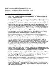 talepapir - De Økonomiske Råd