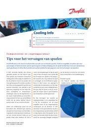 Tips voor het vervangen van spoelen Cooling Info - Danfoss