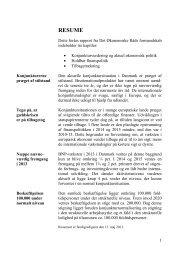 Dansk Økonomi forår 2013, Resume - De Økonomiske Råd