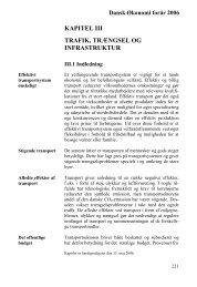 kapitel iii trafik, trængsel og infrastruktur - De Økonomiske Råd