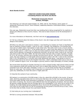 Brain Bombs Archive - Leadership Network
