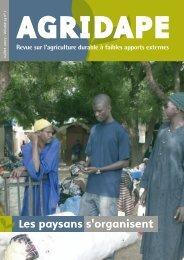 Volume 23, n°1 - IED afrique