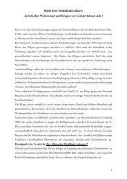 Hallo liebe Mobilfunkkritiker: Juristischer Widerstand und ... - iddd.de