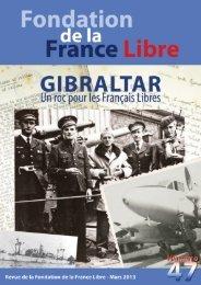 mars 2013 - Fondation de la France Libre