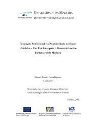 Formação profissional e produtividade no sector hoteleiro - DigitUMa