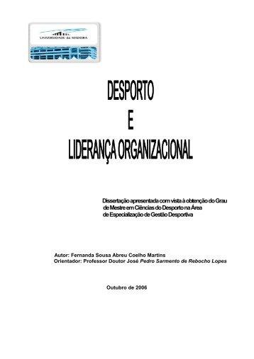 mestrado fernanda martins 2006 - DigitUMa - Universidade da ...