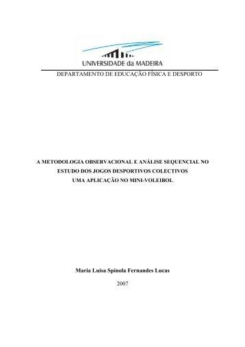 Maria Luísa Spínola Fernandes Lucas 2007 ... - DigitUMa