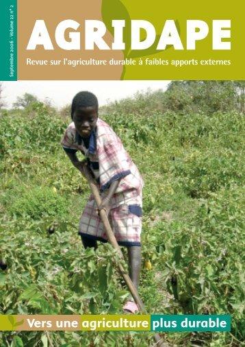 Volume 22, n°2 - IED afrique