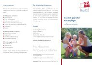 Staatlich geprüfter Kinderpfleger - Diakonie Michaelshoven