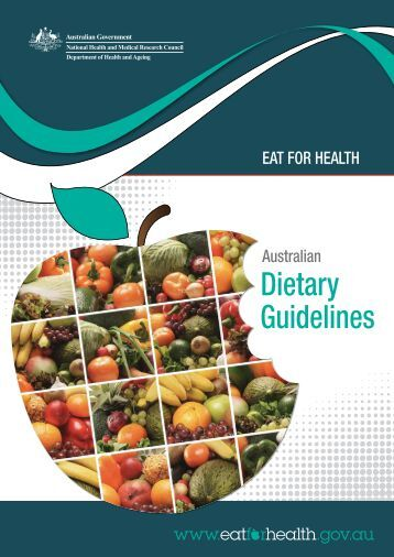 australian dietary guidelines risk corectol cancer