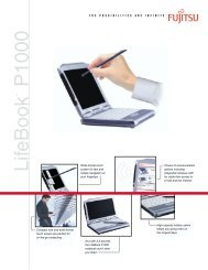 LifeBook P1000 - CNET Content Solutions