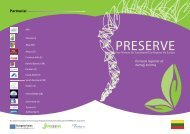 PRESERVE - Assembly of European Regions