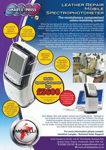 to download the full Spectrophotometer Leaflet - Smart Express