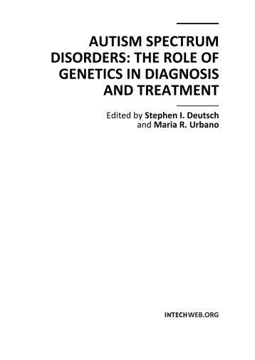 autism spectrum disorders - Download Medical Books