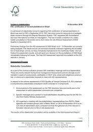 ASI assessment - FSC Watch