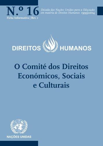 N.º 16 - Direitos Humanos - Gabinete de Documentação e Direito ...