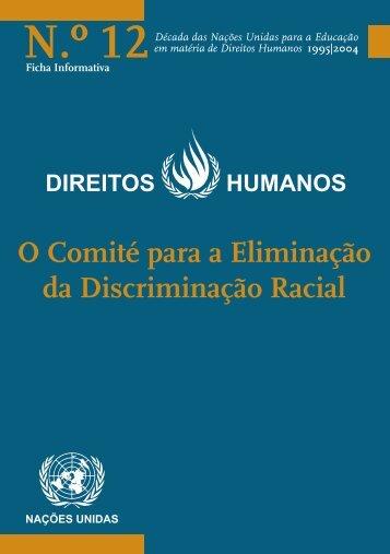 O Comité para a Eliminação da Discriminação ... - Direitos Humanos