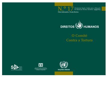 O Comité Contra a Tortura - Gabinete de Documentação e Direito ...