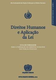 Guia de Direitos Humanos e Aplicação da Lei - DHnet