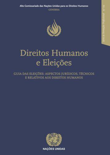 Direitos Humanos e Eleições - Gabinete de Documentação e Direito ...