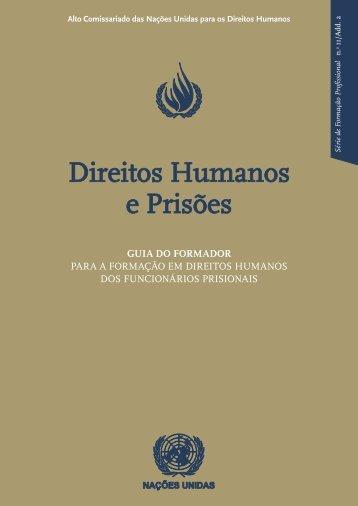 Direitos Humanos e Prisões – Guia do Formador - DHnet