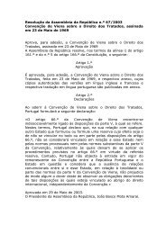 Convenção de Viena sobre o Direito dos Tratados - Gabinete de ...