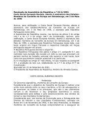 Carta Social Europeia Revista, aberta à assinatura dos Estados ...