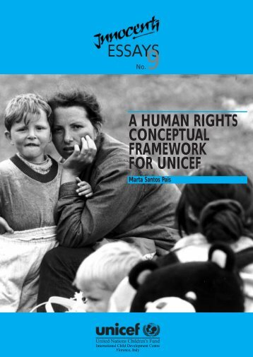 essays a human rights conceptual framework for ... - Direitos Humanos