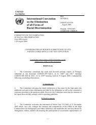 International Convention on the Elimination of ... - Direitos Humanos